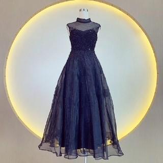 ディオール(Dior)のDIOR   ロングワンピース   (ひざ丈ワンピース)