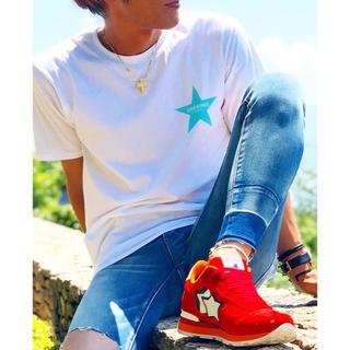 ロンハーマン(Ron Herman)のDrawing STAR Tシャツ スター キムタク着 ロンハーマン Lサイズ(Tシャツ/カットソー(半袖/袖なし))