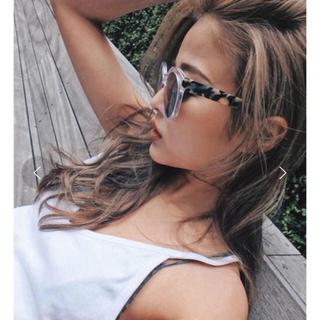 ALEXIA STAM - TRUNC88 marble Like sunglasses サングラス