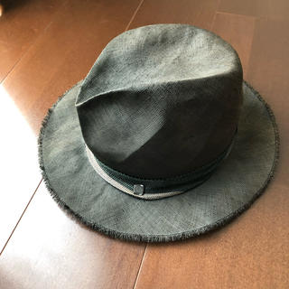 カシラ(CA4LA)のまはろんろん様専用 カシラ 麦わら帽子 ハット 美品(ハット)