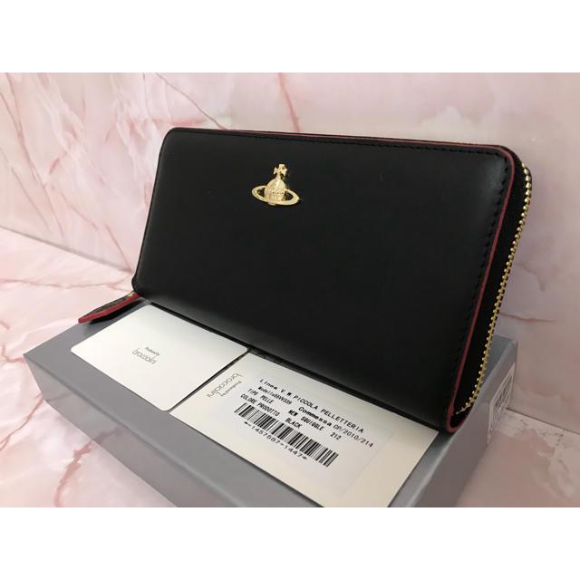 Vivienne Westwood - 黒×赤長財布❤️ヴィヴィアンウエストウッドの通販 by フィック↑|ヴィヴィアンウエストウッドならラクマ