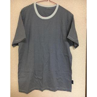 シャルレ(シャルレ)のシャルレ メンズ ボーダーTシャツ(Tシャツ/カットソー(半袖/袖なし))