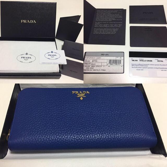 PRADA - PRADA長財布    正規品の通販 by chita|プラダならラクマ
