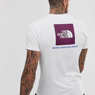 ザノースフェイス(THE NORTH FACE)のThe North Face ノースフェイスTシャツ パープルロゴ(Tシャツ/カットソー(半袖/袖なし))