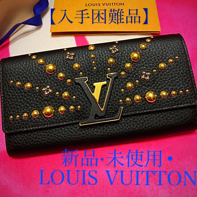 LOUIS VUITTON - ルイヴィトン ポルトフォイユ カプシーヌ 長財布 ブラックゴールド M63461の通販 by lein1506's shop|ルイヴィトンならラクマ