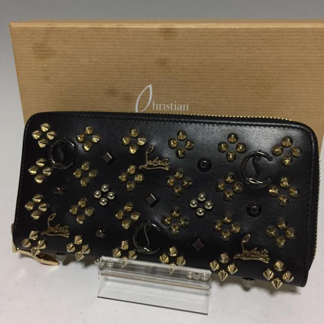 Dior コピー バッグ 、 Christian Louboutin - クリスチャンルブタン 黒 長財布 パネトーネ スタッズ ラウンドファスナー の通販 by プロフ必読お願いします。|クリスチャンルブタンならラクマ