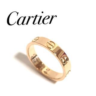 カルティエ(Cartier)のカルティエ ミニラブリング PG ピンクゴールド 47号 保証書(リング(指輪))