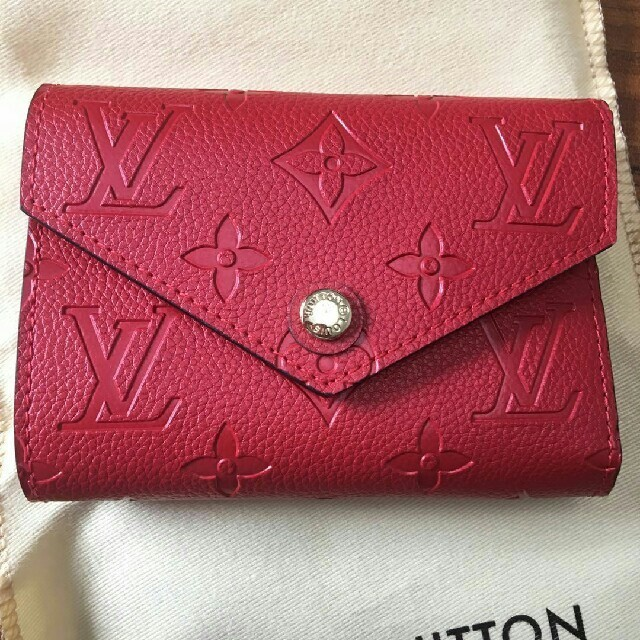 LOUIS VUITTON - LOUIS VUITTON ルイヴィトン 折り財布 可愛い 高品質 赤の通販 by ヌヲユ's shop|ルイヴィトンならラクマ