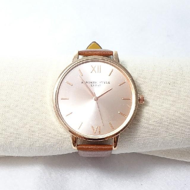 腕時計 レディース 新品/人気/オシャレ/ピンクゴールドの通販 by Scent of Yokohama|ラクマ