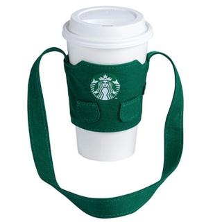 スターバックスコーヒー(Starbucks Coffee)の☆値下げしました☆台湾限定☆スタバのエプロンドリンクホルダー/カップホルダー(日用品/生活雑貨)