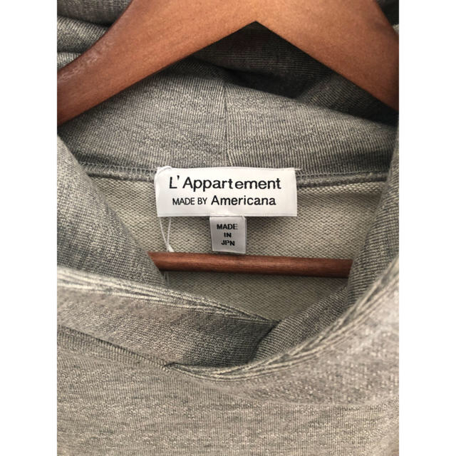 L'Appartement DEUXIEME CLASSE(アパルトモンドゥーズィエムクラス)のアパルトモン ☆アメリカーナ☆パーカー レディースのトップス(パーカー)の商品写真