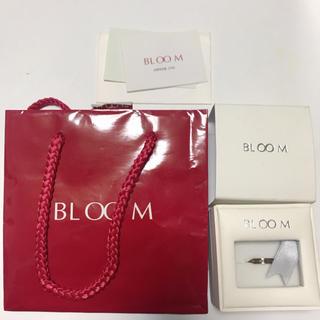 ブルーム(BLOOM)のブルーム 指輪 ステンレス ブラウン ダイヤ モチーフ ストーン リング(リング(指輪))