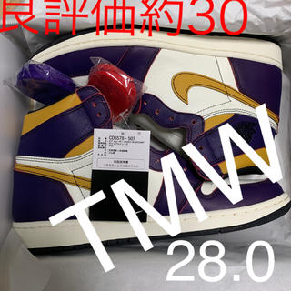 ナイキ(NIKE)の【新品】NIKE AIR JORDAN 1 LA to CHICAGO 28.0(スニーカー)