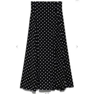 フレイアイディー(FRAY I.D)の今期完売ドットスカート (ロングスカート)