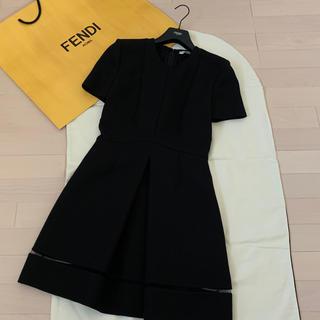 フェンディ(FENDI)のフェンディ♡半袖ワンピース38(ミニワンピース)