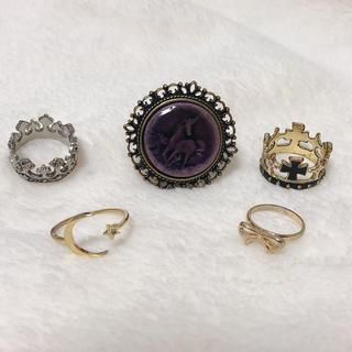 クレアーズ(claire's)のリング セット(リング(指輪))