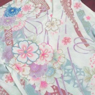 ツモリチサト(TSUMORI CHISATO)の浴衣&帯3点セット(浴衣)
