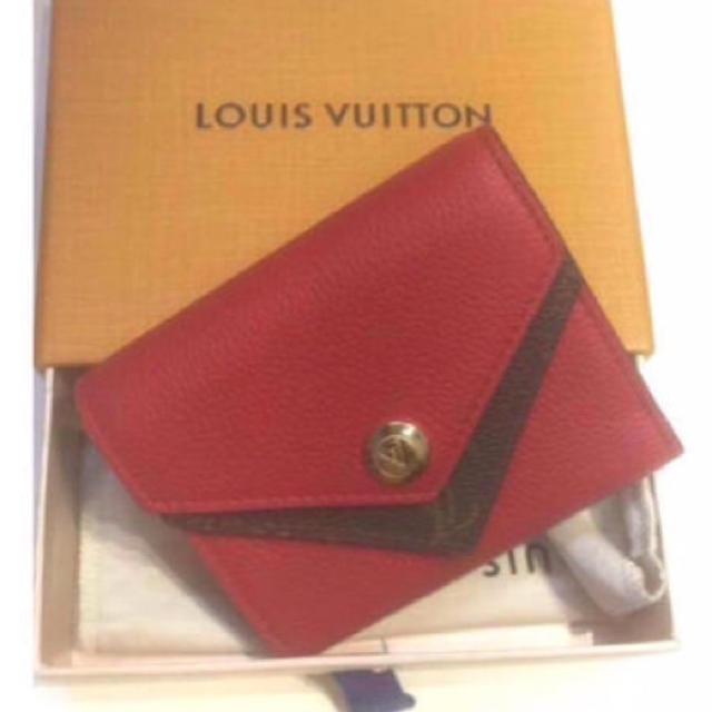 LOUIS VUITTON - LOUISVUITTONルイヴィトン  折り財布  ポルフォイユドゥブルの通販 by はなこ|ルイヴィトンならラクマ