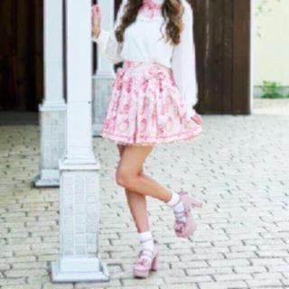 リズリサ(LIZ LISA)の超美品♡大人気即完売♡LIZLISA カメオローズスカパン(キュロット)