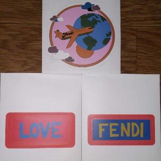 フェンディ(FENDI)のFENDI RIMOWA コラボスーツケース ステッカー(その他)