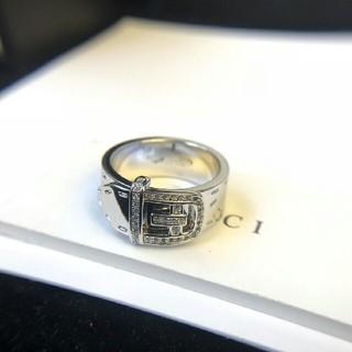 グッチ(Gucci)の【美品】GUCCI リング(実寸14号)指輪 シルバー925(リング(指輪))