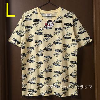 サンリオ(サンリオ)のペコ 総柄 tシャツ L 男女兼用(Tシャツ/カットソー(半袖/袖なし))