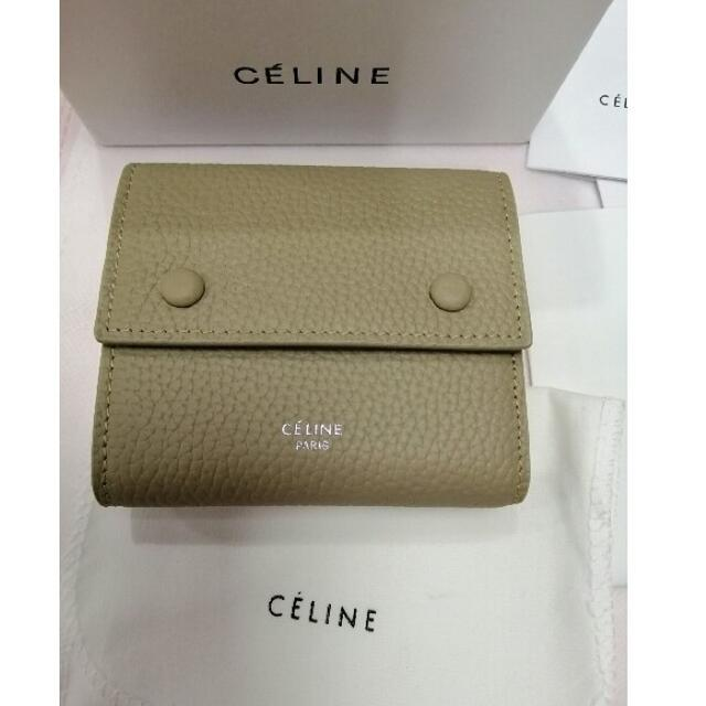 celine - 19ssセリーヌCeline   折り財布   美品 の通販 by 悠介|セリーヌならラクマ