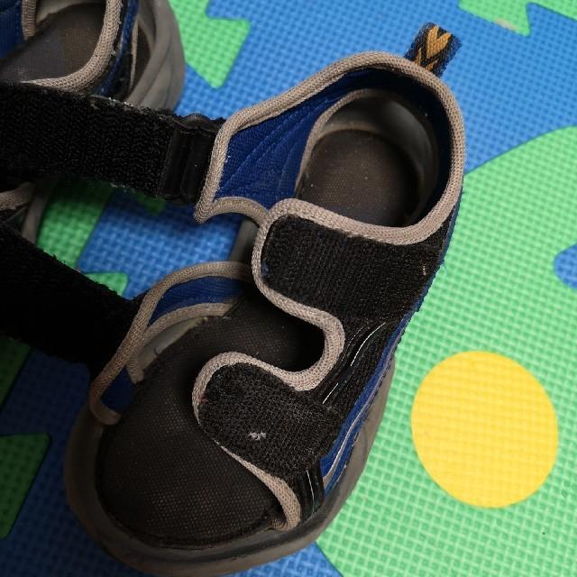 mikihouse(ミキハウス)の中古 15cm ミキハウス サンダル  キッズ/ベビー/マタニティのキッズ靴/シューズ (15cm~)(サンダル)の商品写真