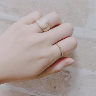 ジーユー(GU)のゴールド リング 指輪(リング(指輪))