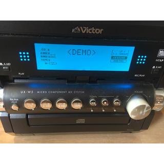 Victor - 【ビクター】CD,MD,カセットテープ、ラジオ対応コンポ