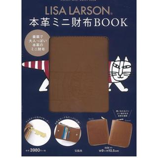 Lisa Larson - リサラーソン 本革 ミニ財布 マイキー