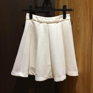 イング(INGNI)のINGNI   ホワイトのキュロットスカート(キュロット)