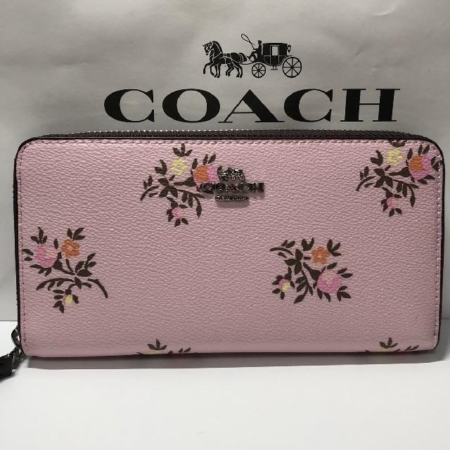 COACH - 新品 コーチ COACH 正規品 長財布 F22877 花柄の通販 by MeltySyrupy's shop|コーチならラクマ