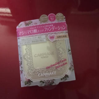 CANMAKE - マショマロ肌仕上げファンデーション!!