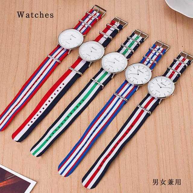 【お買い得】 ★5カラー ナイロンベルト腕時計★の通販 by まる's shop|ラクマ