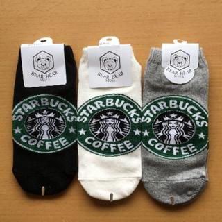 スターバックスコーヒー(Starbucks Coffee)のスターバックス くつした その①(ソックス)