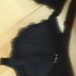 黒 ブラジャー 新品 85~90(ブラ)