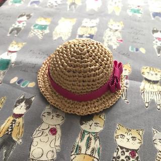 オビツ11 サイズ帽子(ピンクリボン)(人形)