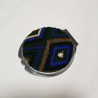 ミナペルホネン(mina perhonen)のミナペルホネン ハンドメイド コンパクトミラー flower diamond(ファッション雑貨)
