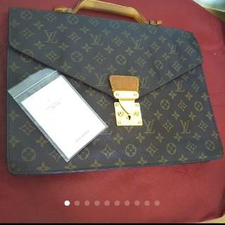 ルイヴィトン(LOUIS VUITTON)のルイヴィトン♥モノグラムキャンバスビジネスバッグ(ビジネスバッグ)