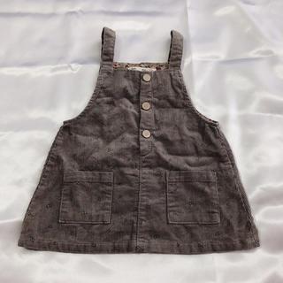 ザラキッズ(ZARA KIDS)の秋支度 ザラベビー ジャンパースカート 80 値下げしました!(スカート)