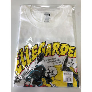ワンオクロック(ONE OK ROCK)のエルレガーデン×ONE OK ROCK コラボT白(L)未開封完全新品(Tシャツ/カットソー(半袖/袖なし))