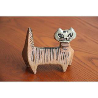 Lisa Larson - Lisa Larson リサラーソン Lilla Zoo Katt 猫 ネコ