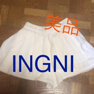 イング(INGNI)の【未使用】INGNI ミニスカ風(キュロット)