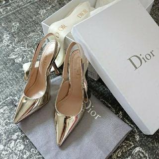 ディオール(Dior)の未使用 DIOR sweetD リボンパンプス 35(ハイヒール/パンプス)