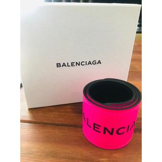 バレンシアガ(Balenciaga)の正規品 新品・未使用 バレンシアガサイクルブレスレット バングル(ブレスレット/バングル)