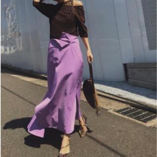 アメリヴィンテージ(Ameri VINTAGE)のTRIANGLE HEM SKIRT(ロングスカート)