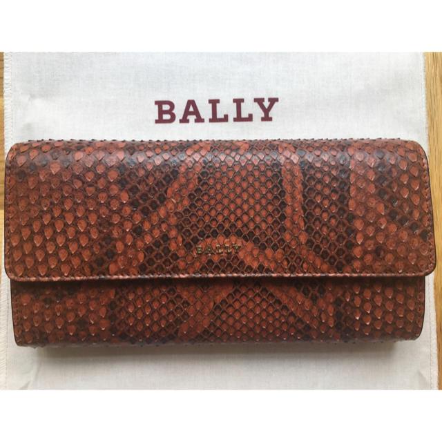 Bally - BALLY 財布 バリー パイソン オレンジの通販 by mon |バリーならラクマ