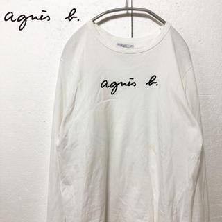 アニエスベー(agnes b.)の【agnes b.】人気 ブランドロゴ入り カットソー(カットソー(長袖/七分))