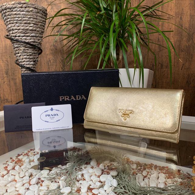 ブレゲ メンズ 時計 スーパー コピー - PRADA - PRADA 長財布 ゴールド プラダ サフィアーノの通販 by L-CLASS's shop|プラダならラクマ
